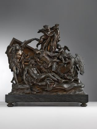 Massimiliano Soldani Benzi, Pietà, 1713-14, Bronzo. Seattle, Art Museum, Samuel H. Kress Collection