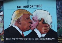 Not #InForThis, 2016 Collettivo WeAreEurope, Bristol