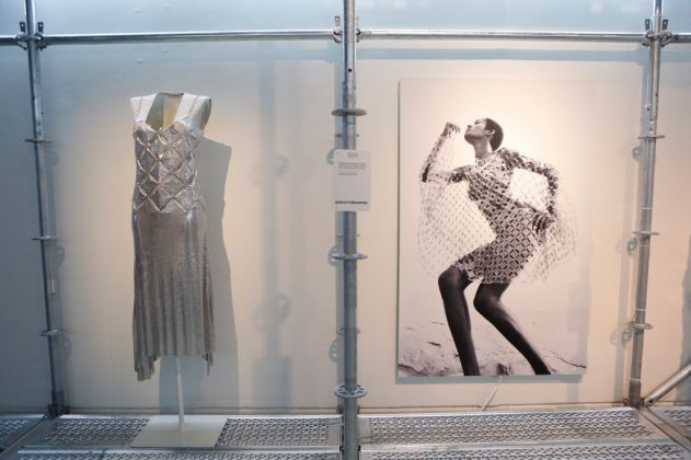 Paco Rabanne. Exhibition view at Real Accademia di San Fernando, Madrid 2017. Photo © Sergio González