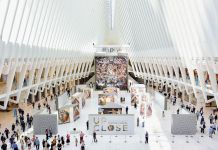 Michaelangelo's Sistine Chapel all' Oculus Plaza (Photo by Eugene Gologursky/Getty Images for Westfield)