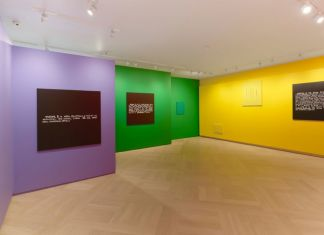 Colour in Contextual Play, installation view at Mazzoleni London, 2017