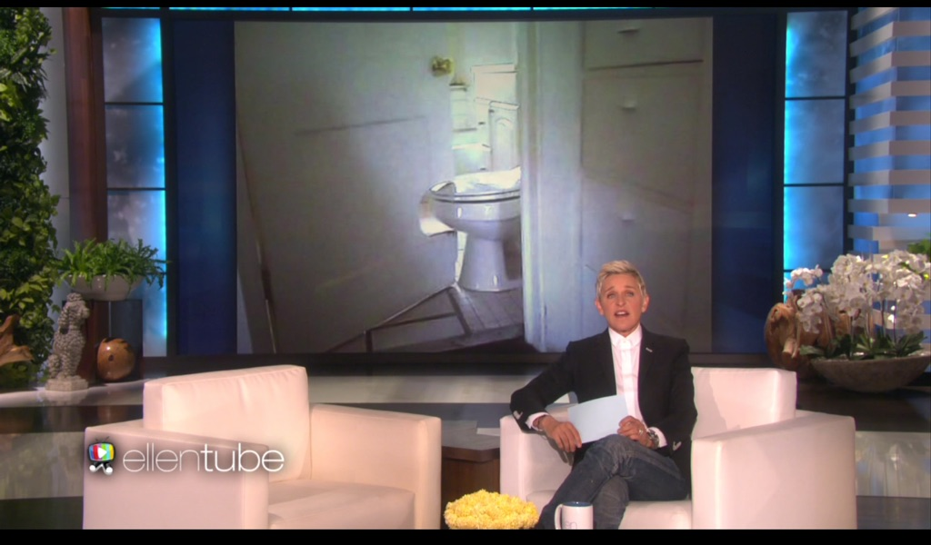 Dalla puntata Don't Do It Yourself del The Ellen DeGeneres Show