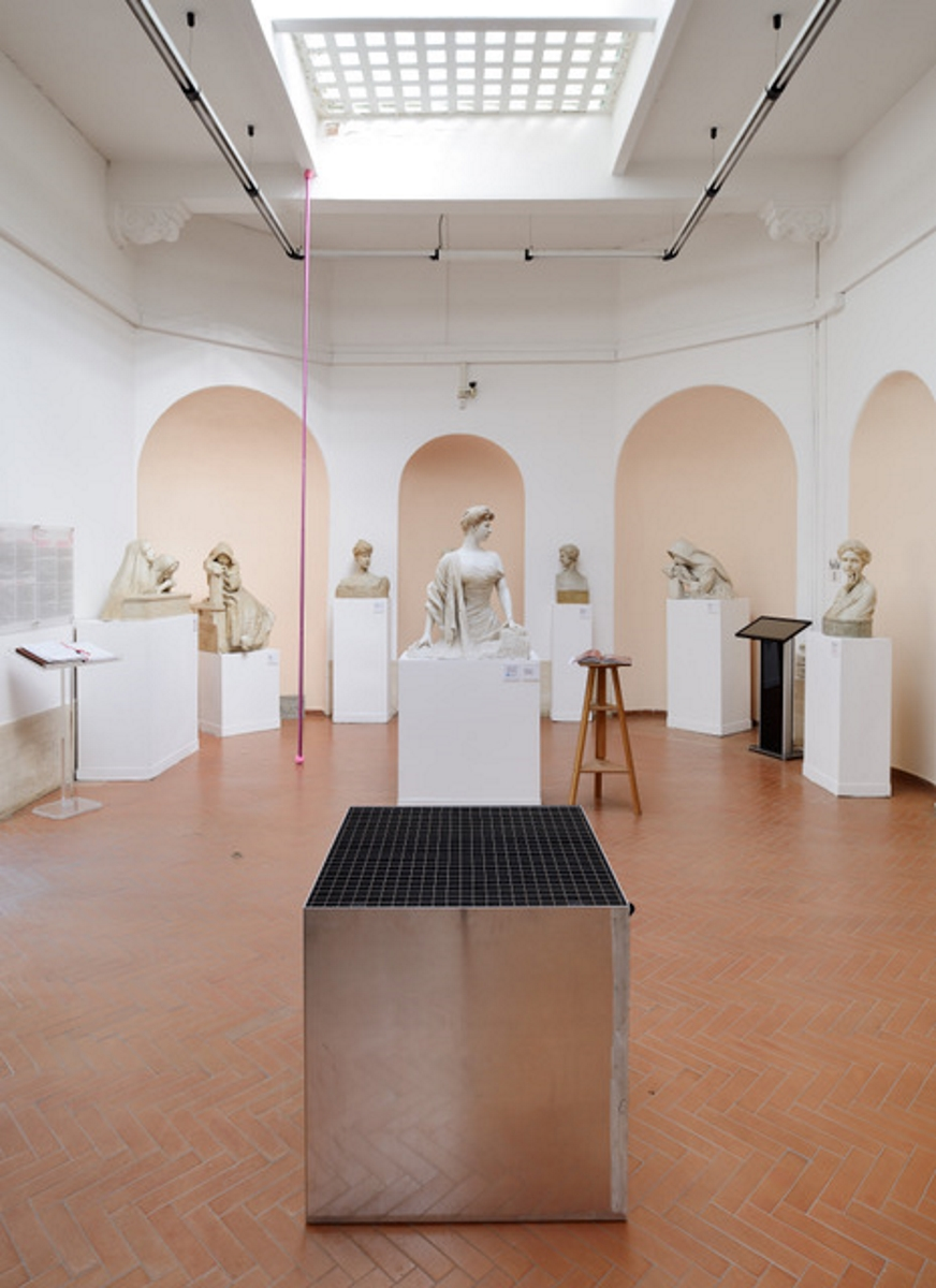 Fortezzuola, exhibition view at Museo Pietro Canonica, Roma 2017