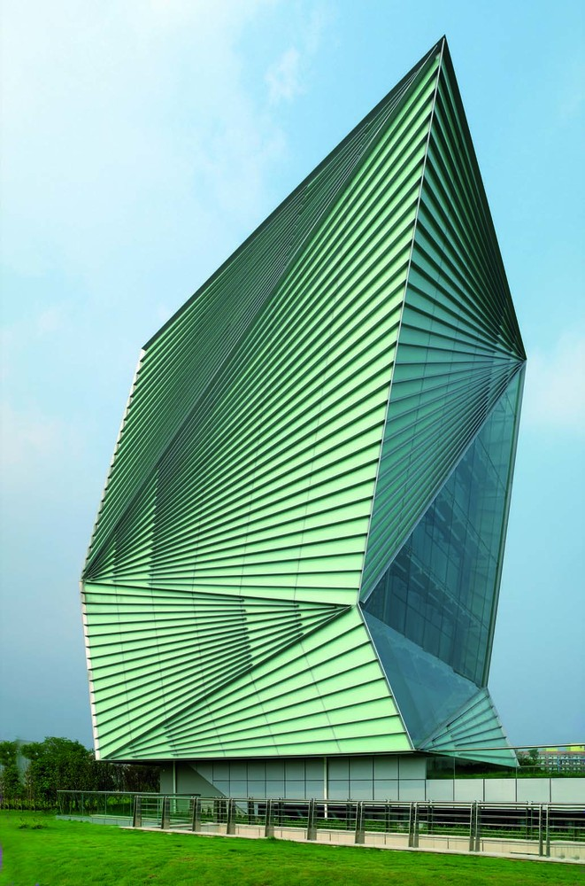 Mario Cucinella Architects, Centre for Sustainable Energy Technologies, Ningbo, photo Daniele Domenicali
