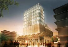 Un rendering dello Zeitz Museum of Contemporary Art (courtesy Zeitz Foundation)