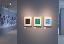 Anni Albers. The Prints. Exhibition view at Galleria Carla Sozzani, Milano 2017