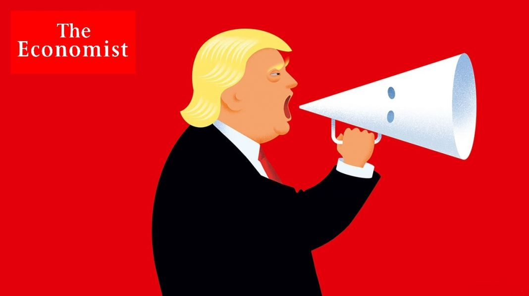 Cover The Economist by John Berkeley, agosto 2017