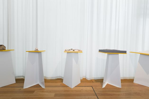 Et sted å være. A place to be. Installation view at Nasjonalmuseet – Arkitektur, Oslo 2017. Photo credits Luca Tenaglia