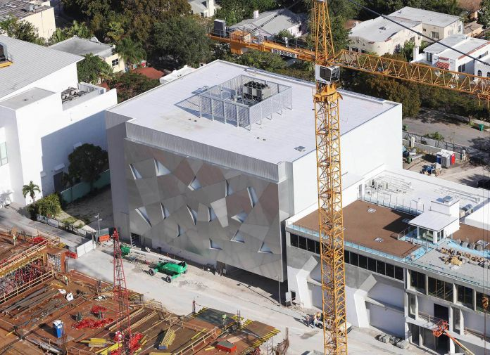 La nuova sede dell'Institute of Contemporary Art di Miami