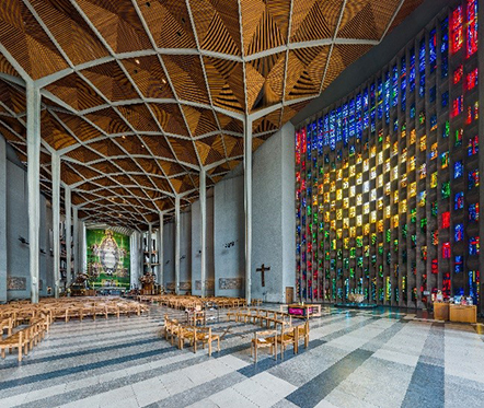 La Cattedrale di Coventry (Sir Basil Spence, 1962), Coventry, Inghilterra