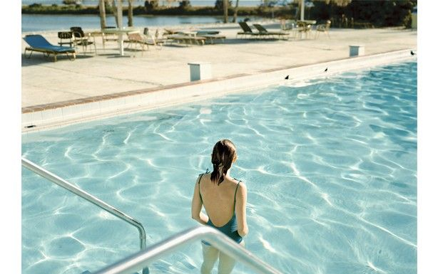 Stephen Shore 'Ginger Shore, Causeway Inn, Tampa, Florida, November 17, 1977', 1977/2011 © Stephen Shore