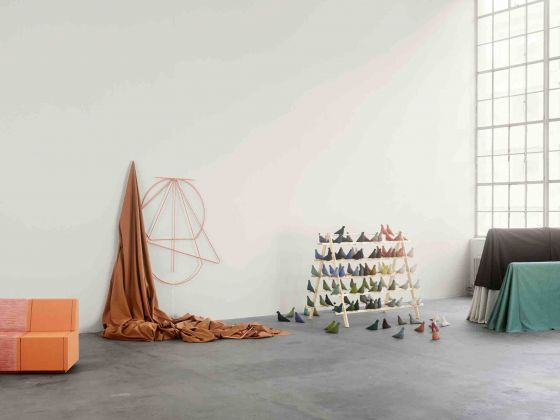 My Canvas, Kvadrat, installazione all'interno di Design Frontiers a Somerset House