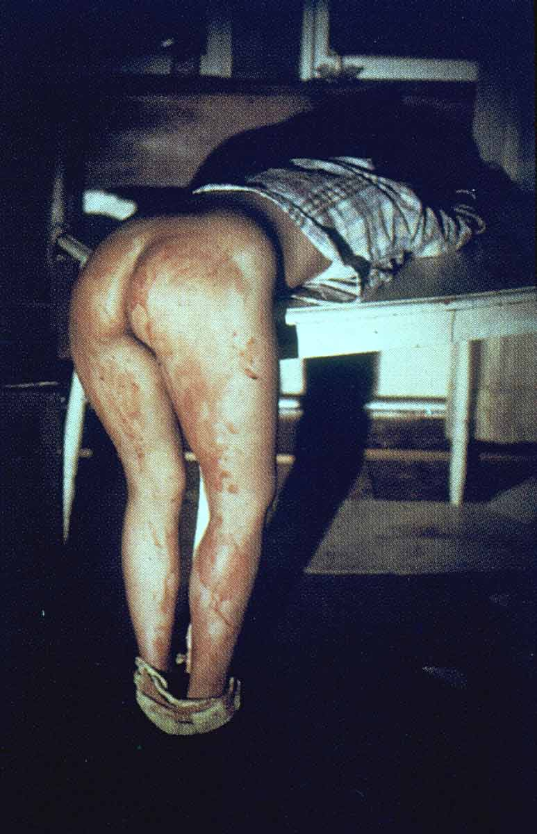 Ana Mendieta, Untitled (Rape Scene), 1973
