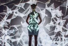 Anouk Wipprecht, Smoke Dress. progetto per Volkswagen