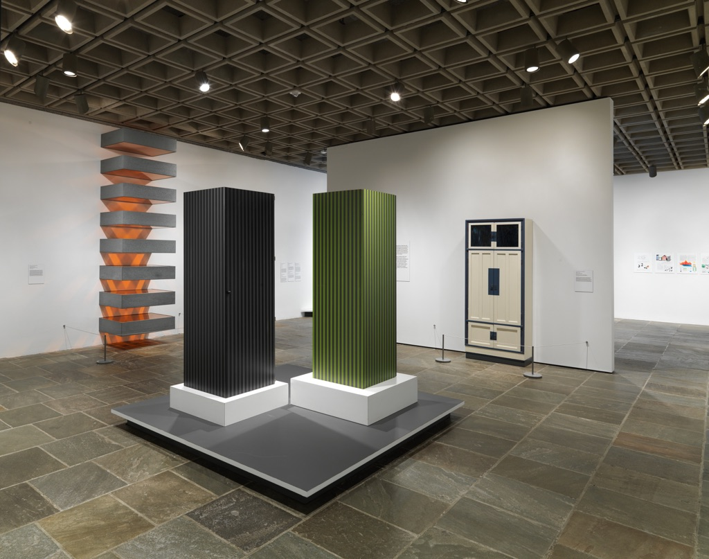 Ettore sottsass design radical exhibition view at met for Metropolitan museum of art exhibitions