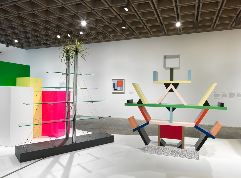 Ettore Sottsass. Design Radical. Exhibition view at MET Breuer, New York 2017. Courtesy The Metropolitan Museum of Art. Photo Anna Marie Kellen