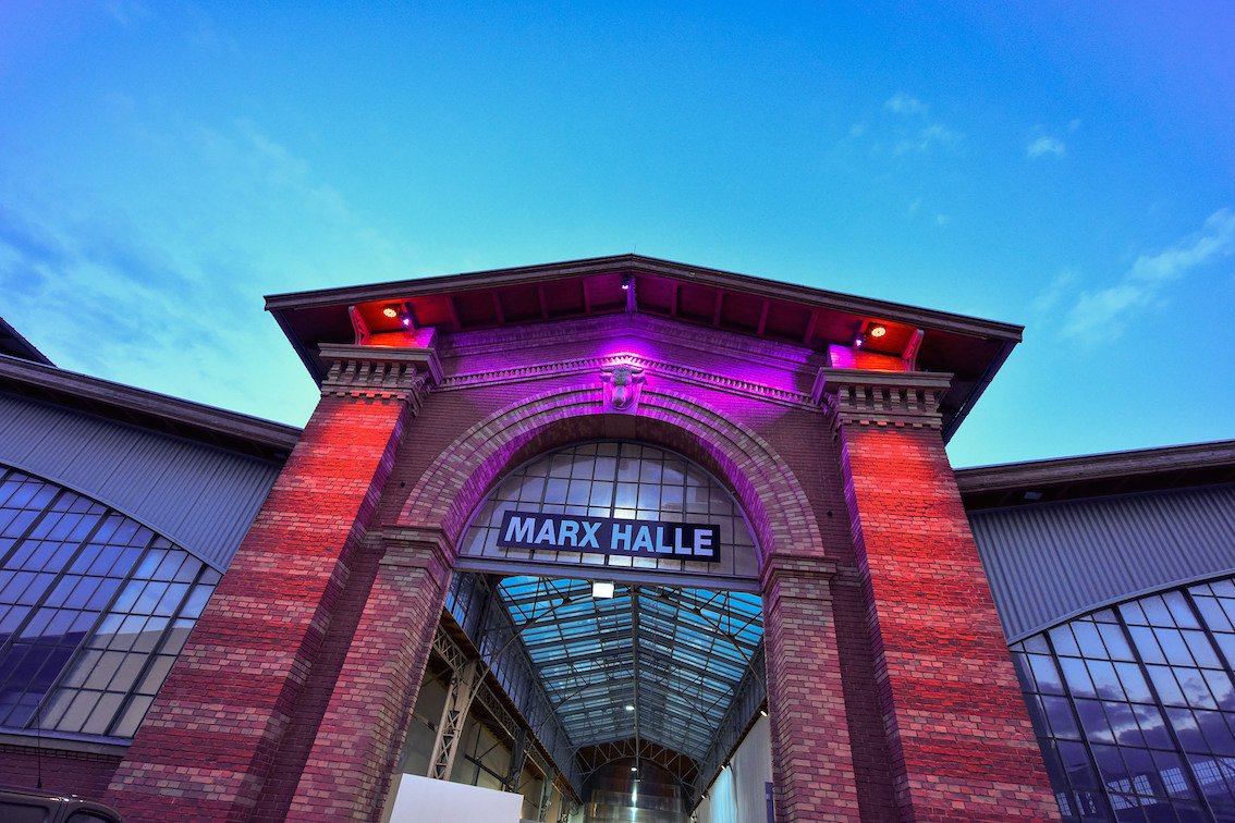 Marx Halle. Photo © viennacontemporary, H.J. Kamerbeek