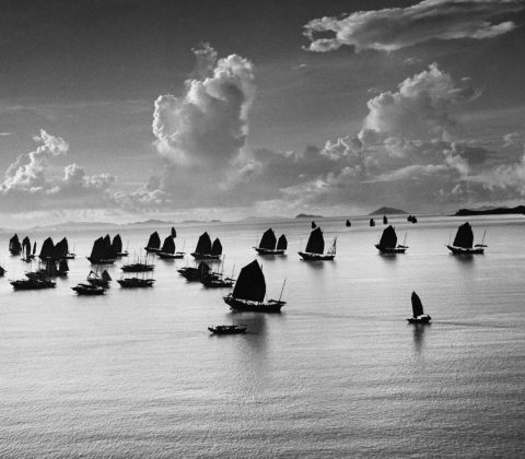 Werner Bischof, Harbour of Kowloon, Hong Kong, 1952 © Werner Bischof/Magnum Photos