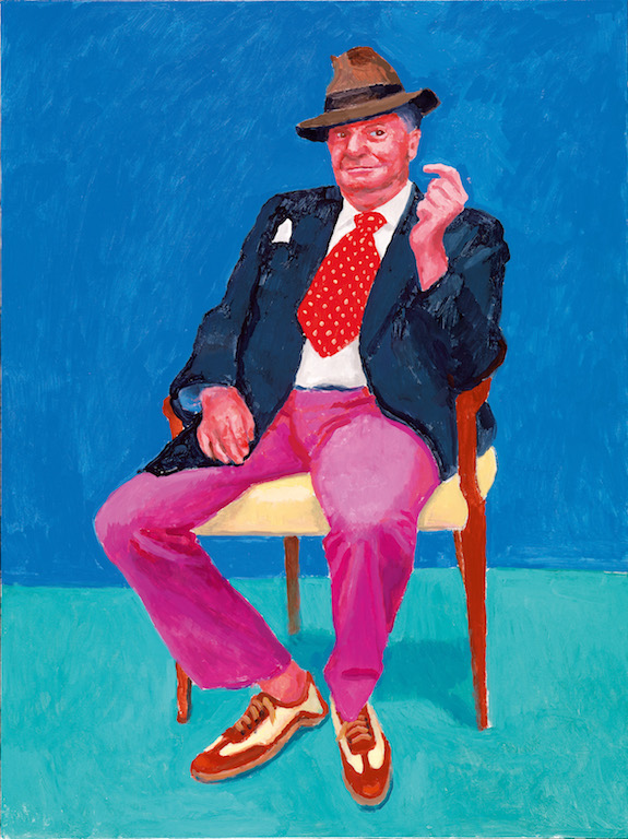 David Hockney, Barry Humphries © David Hockney, Ph. credit Richard Schmidt