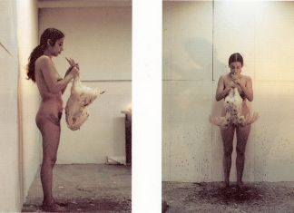 Ana Mendieta, Untitled (Death of a Chicken), 1972