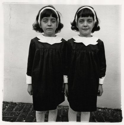 Diane Arbus, Identical twins, Roselle, N.J. 1967. Courtesy The Estate of Diane Arbus