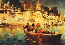 Edwin Lord Weeks, The Last Voyage. Souvenir of the Ganges, 1885. Art Gallery of Hamilton