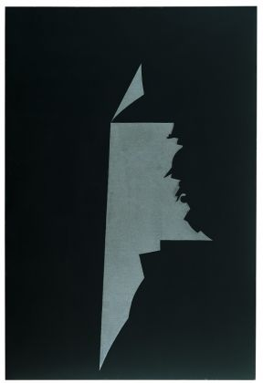 GINO DE DOMINICIS (1947-1998)Con Titolo (Ghilgamesh), 1988Mixed media on panel97⅝ x 66⅛ in. (248 x 168 cm.)© Estate of the artist / Archivio Gino De Dominicis, Foligno, Italy. DACS 2017.