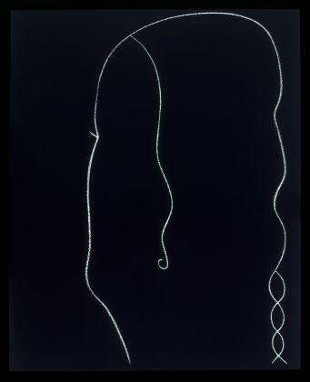 GINO DE DOMINICIS (1947-1998)Senza Titolo, 1986 Tempera and chalk on panel50¾ x 41⅜ in. (129 x 105 cm.)© Estate of the artist / Archivio Gino De Dominicis, Foligno, Italy. DACS 2017.