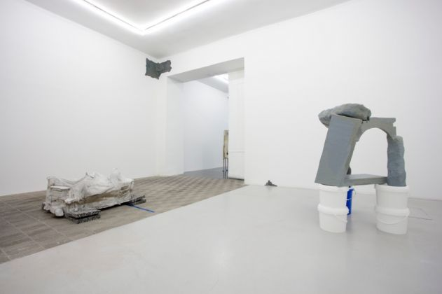 Ludovica Carbotta. Falsetto. Exhibition view at Galería Marta Cervera, Madrid 2017