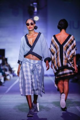 Mafi collection, showcasing at Hub Of Africa