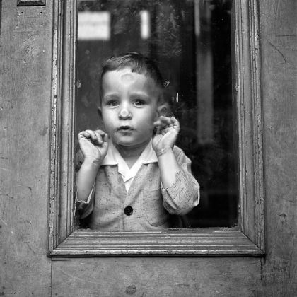 Vivian Maier, May 5, 1955. New York, NY