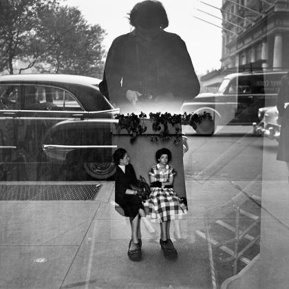 Vivian Maier, Self Portrait, 1954. Vivian Maier / Maloof Collection