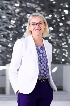 Anne Mény Horn, CEO Agence France Museums © Louvre Abu Dhabi Mohamed Somji