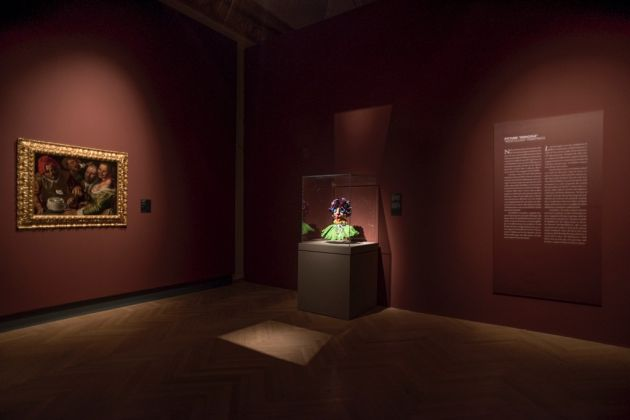 Arcimboldo. Exhibition view at Gallerie Nazionali di Arte Antica di Palazzo Barberini, Roma 2017