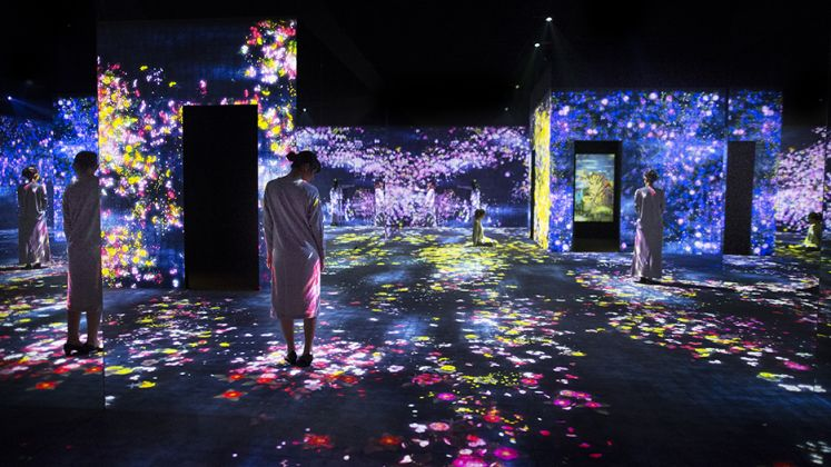 FlowerForest, teamLab