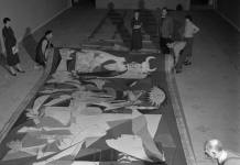 Guernica al Museo di Arti Decorative di Parigi nel 1955, Getty Images (c) Manuel Litran :Paris Match via Getty Images