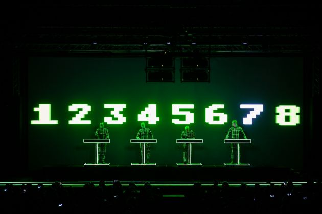 Kraftwerk 3D. The Catalogue 1 2 3 4 5 6 7 8. OGR, Torino 2017. Photo Daniele Baldi