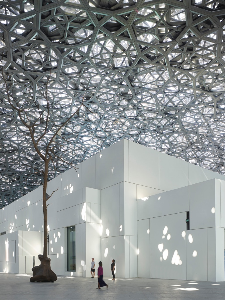Louvre Abu Dhabi - Germination by Giuseppe Penone © Louvre Abu Dhabi – Photography Roland Halbe
