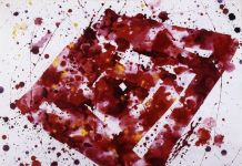 Sam Francis, Untitled, 1975. Courtesy Galleria Open Art, Prato