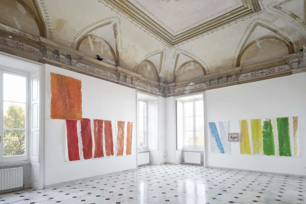 Stefano Arienti. Finestre meridiane. Installation view at Villa Croce, Genova 2017. Photo credits Anna Positano Opfot.com