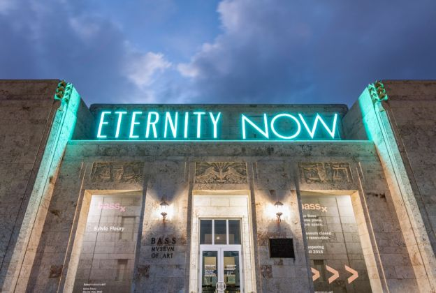 Sylvie Fleury, Eternity Now, 2015. Courtesy of The Bass Museum of Art. Photo © Silvia Ros