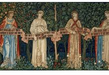 William Morris, Tapiz The Orchard