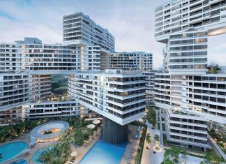 OMA + Ole Scheeren, The Interlace, Singapore