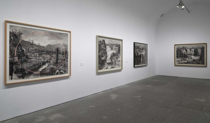 William Kentridge. Basta y Sobra. Exhibition view at Museo Nacional Centro de Arte Reina Sofia, Madrid 2017. Photo Joaquín Cortés_Román Lores