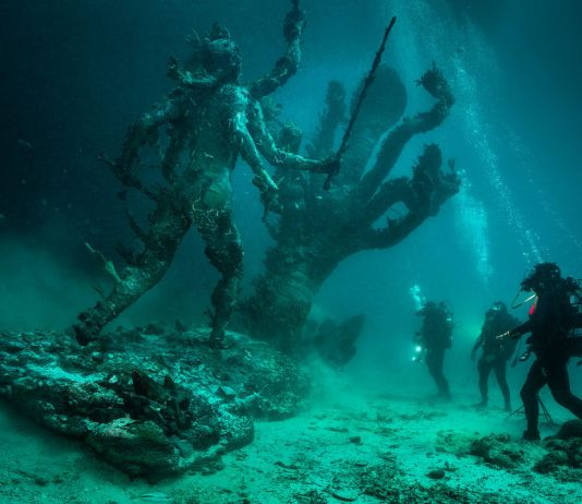Damien Hirst, reasures from the Wreck of the Unbelievable