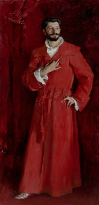 John Singer Sargent, Dr Samuel Jean Pozzi,1881.Los Angeles, The Hammer Museum.Armand hammer Collection