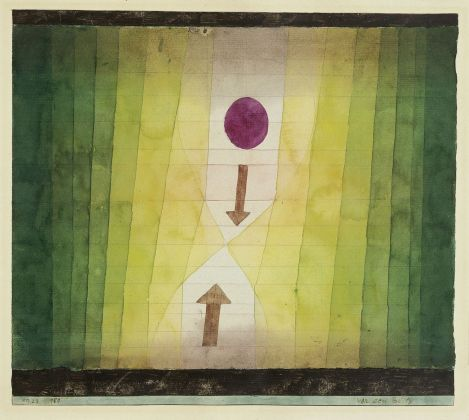 Paul Klee, Vor dem Blitz, 1923. Fondation Beyeler, Riehen. Photo Peter Schibli