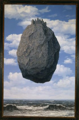 Renè Magritte, Le Chateau de Pyrenees, 1959. The Israel Museum, Gerusalemme. Photo © The Israel Museum, Jerusalem by Moshe Caine © René Magritte by SIAE 2017