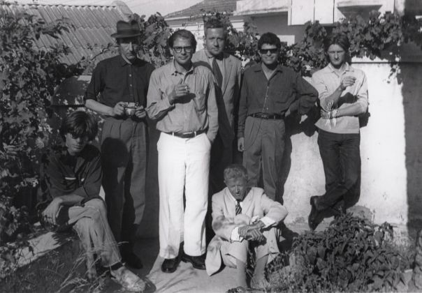 Tangier Group 1961© Allen Ginsberg Estate