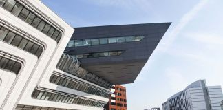Zaha Hadid Architects, Library of the Vienna University of Economics